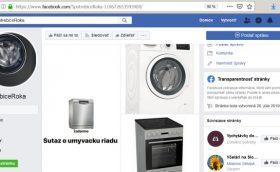 SpotrebičeRoka podvodné facebook súťaže