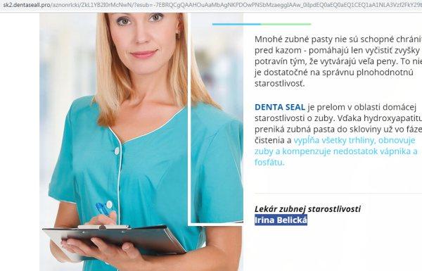 irina Belická, falošná lekárka