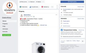 ElektroObchod ElektroRoka Facebook podvod
