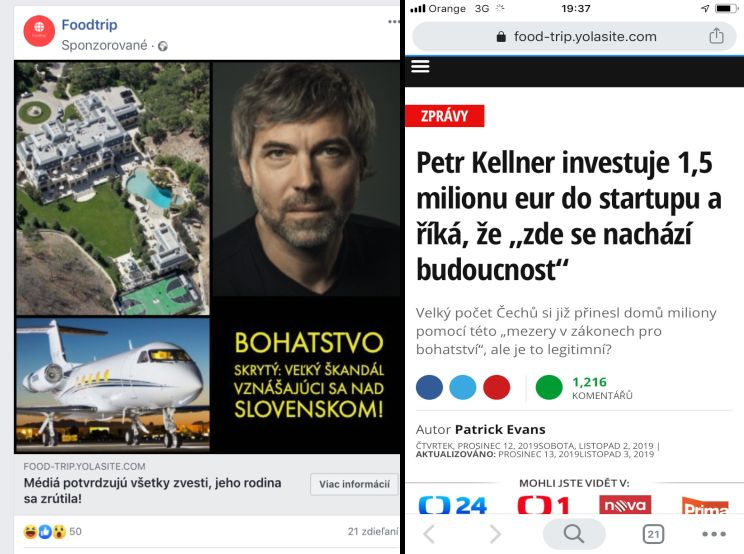 Petr Kellner zneužitý podvodníkmi