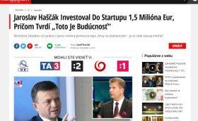 Bitcoin Pro internetový podvod Jaroslav Haščák