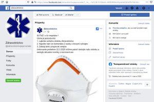 Zdravotníctvo faceboko stránka, podvodná súťaž