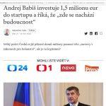 Andrej Babiš BitCoin Pro