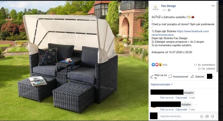 FAO dizajn podvodníci na facebooku