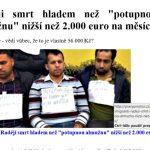 Radeji smrt, 2000 EUR kapesné utečenci v Rakúsku, hoax