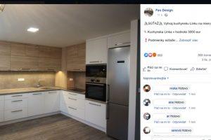 fao design podvodná facebook stránka