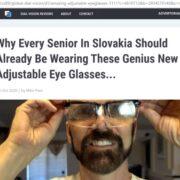 Nastaviteľné okuliare