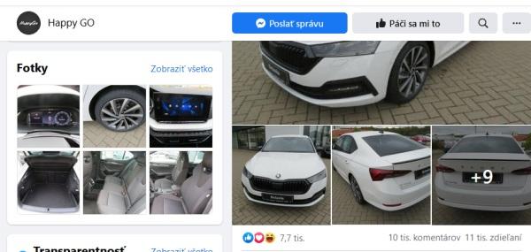 Tisíce oklamaných, podvodná facebook súťaž Happy GO o Škoda Octavia