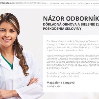 Magdaléna Langová, falošná zubárka, neexistuje