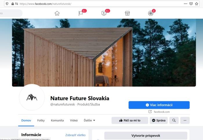 Nature Future Slovakia podvodné súťaže na Facebooku