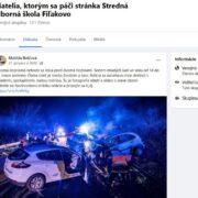 Falošné šokujúce správy o nehodách na Facebook, podvod a pishing s falošným facebokom