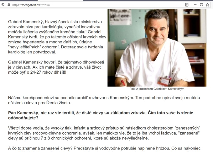 kardiologické správy, CARDIO NJR, podvod
