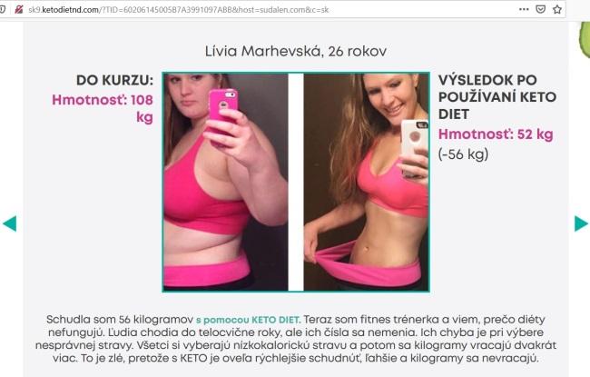 Lívia Marhevská KetoDiet