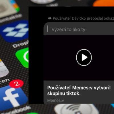 Facebok falošné video v messengeri