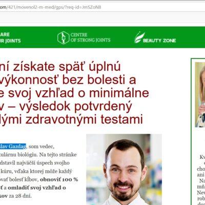 Movenol, falošný lekár na podvodnom prípravku, prof. Jaroslav Gazdag a podvodné lieky