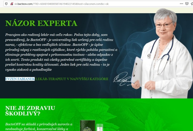Evžen Fabiánek BacteOFF a iné prípravky proti parazitom a podvodní lekári