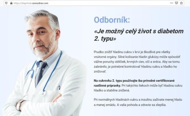 Diaprin, podvodný liek na cukrovku, pozor na podvod