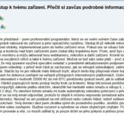 fake spam a vydieranie hacker email