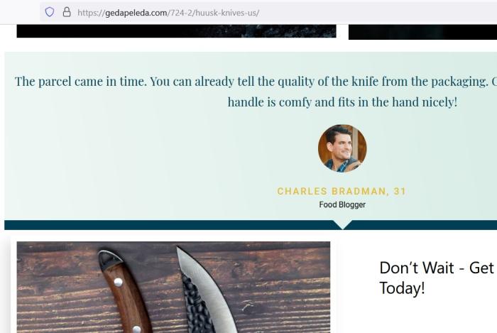 charles brandman neexistujúci foodblogger