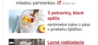 3 potraviny v reklame Azetklik