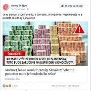 Stovky Slovákov vraj zarábajú veľké peniaze, láka FB reklama s bankovkami