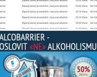 Spamový útok AlcoBarrier na slovenské adresy a podvodné stránky