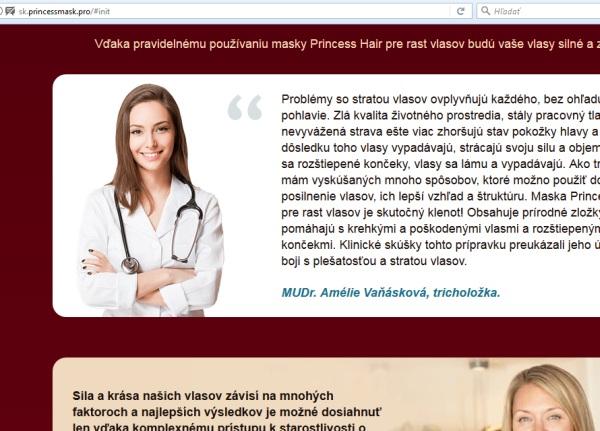Amelie Vaňásková, doktorka