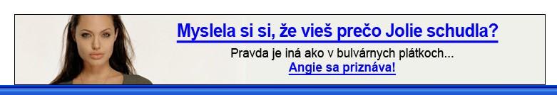 Angelia Jolie chudnutie