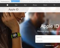 """Podvodný email od Apple s predmetom """"your account has been locked"""""""