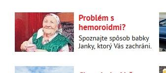 Babka Janka Revitoxin a hemeroidy