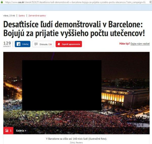 Barcelona protestuje