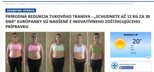 Podozrivý Bioxyn na falošnom magazíne zdravotnickyportal.com