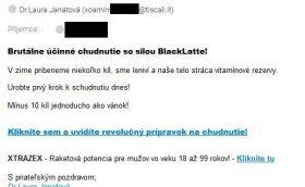 blacklatte Dr.Laura Janatová