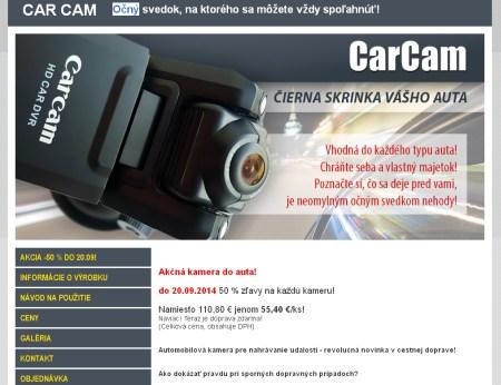 CarCam spam Autokamera