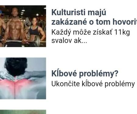 Podvodné reklamy na CAS.sk