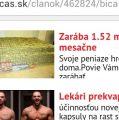 Nový Čas – Cas.sk prezentuje podvodné výrobky v reklamách