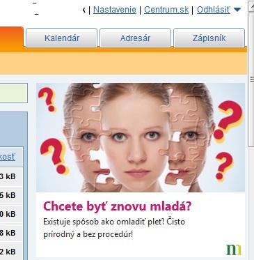 Podvodná reklama Centrum.sk