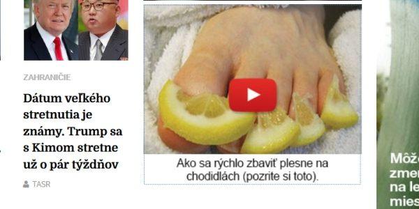 Podvodný web Domáca lekárnička na myproperfeet.com a OnycoSolve