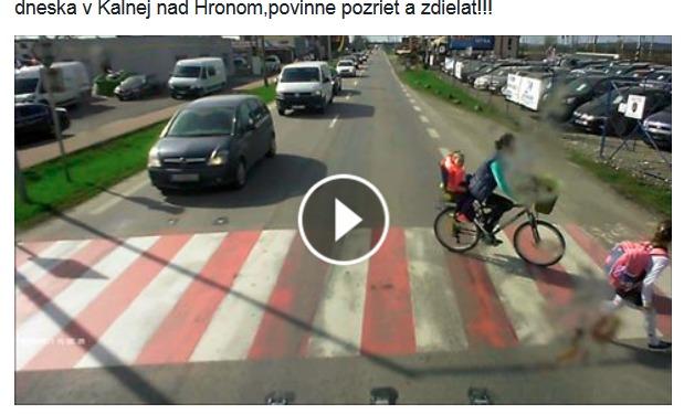 Cyklisti kalná nad hronom