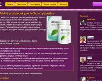 Detoxic, podozrivá látka údajne proti parazitom, recenzia nepotrebná