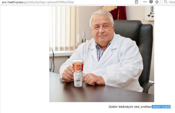 Osteolife a podvod profesor doktor Anton Vystrčil