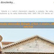 Podivný spam z AKAKIO.eu láka na dovolenky na dobrezlavy.sk