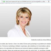 Mudr. Elena Mišíková neexistuje, zneužili britskú moderátorku Ruth Langsford