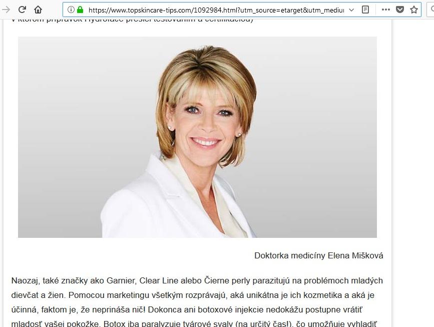 lekár Elena Mišíková neexistuje,