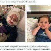 Podozrivá zbierka cez spam, Irenka Palková zbiera pre chorého Erika Palka