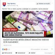 Podvodná reklama na Facebooku: Slovákov láka na peniaze