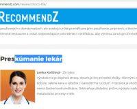Ďalšie falošné recenzie na produkty (recenzieproduktu.com a sk.irecommendz.com)