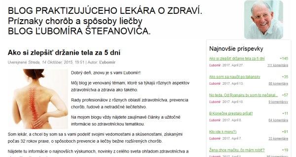 Falošný blog ľubomíra Štefanoviča