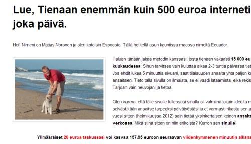Fínsky podvodník ako Adam Bříza