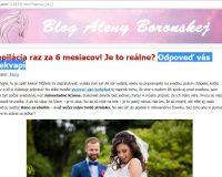 FreshDepil a podvodné blogy Aleny Boronskej a Veroniky Kryštofovej